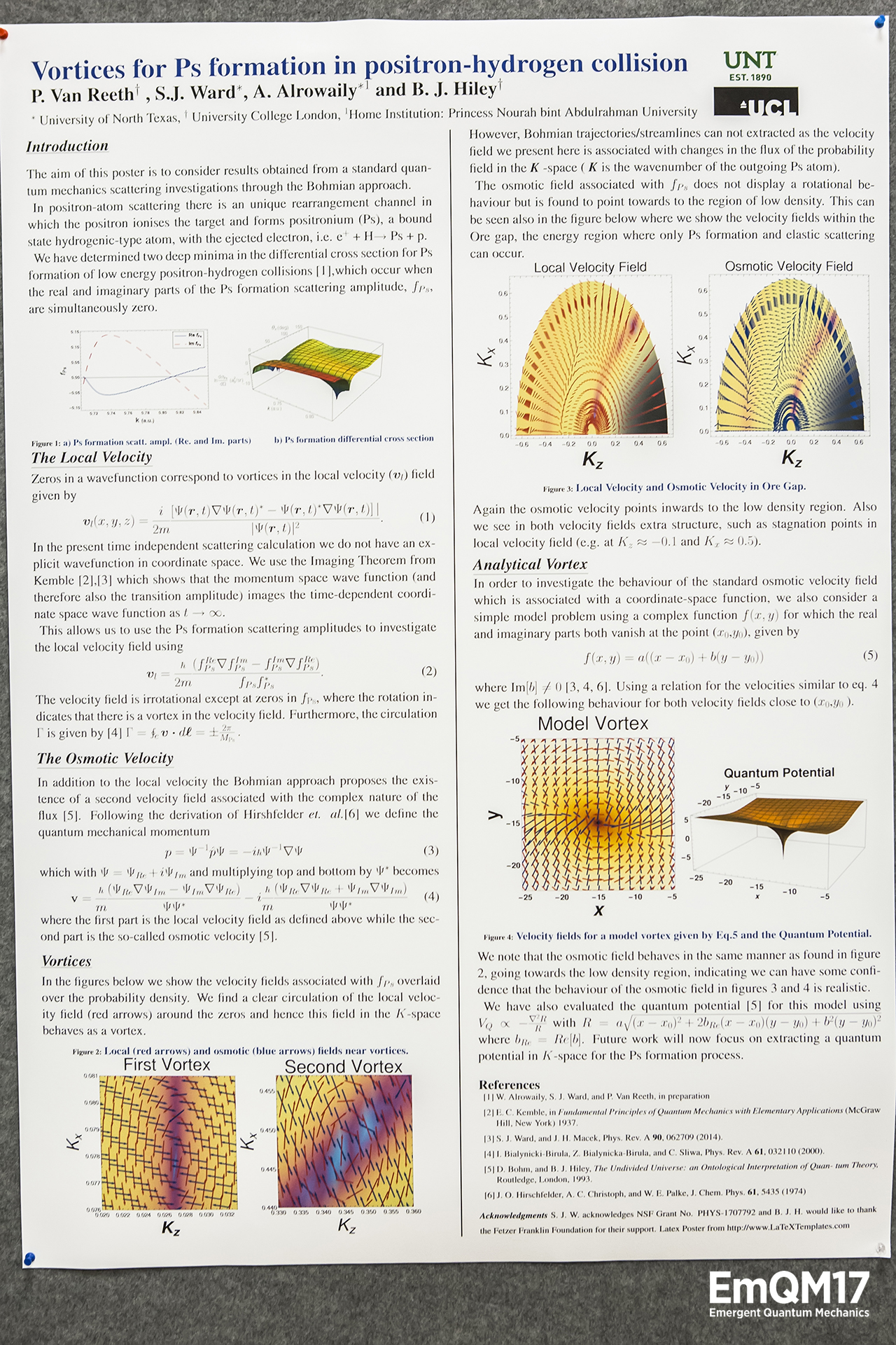 Vortices in low-energy positron-hydrogen scattering by Peter Van Reeth